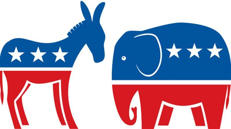 Democratic and Republican Convention Party Menus