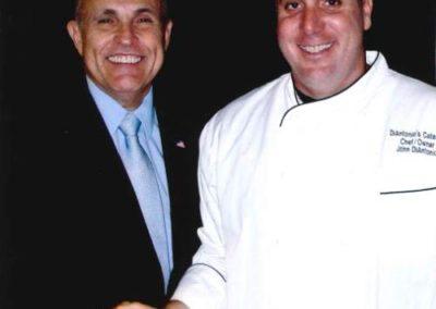 John and Rudy Guiliani