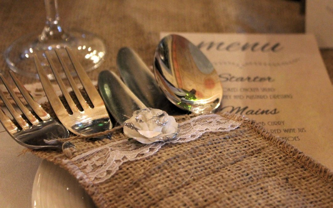 Creating a Simple and Special Wedding Reception Menu