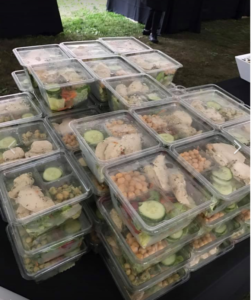 Boxed lunch catering