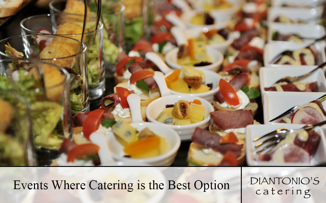 Events Where Catering is the Best Option