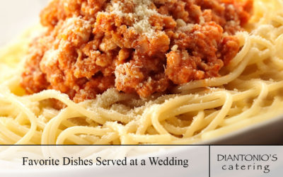 Favorite Dishes Served at a Wedding